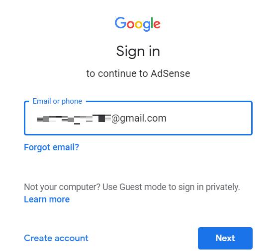 Google Adsenseの申請方法