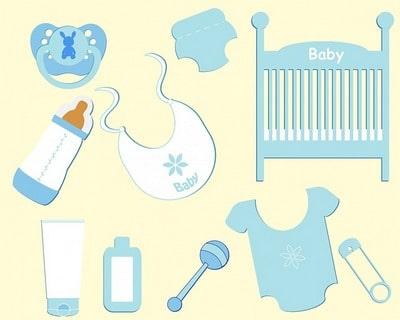 赤ちゃん用品 ドイツ語