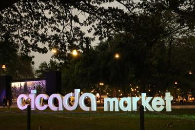 タイ ホアヒン シカダマーケット Cicada market hua hin thailand