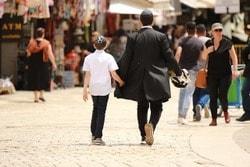 ユダヤ教徒の服装