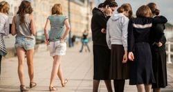 超正統派女性の服装
