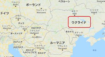 ウクライナ リヴィブの地図