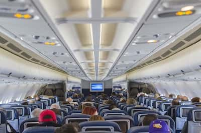 エミレーツ航空の機内・バンコクードバイ間