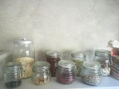 ヴィーガンの食事 豆
