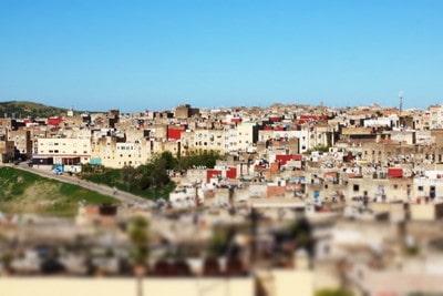 モロッコ フェズの街並み
