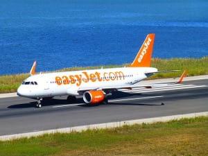 ヨーロッパの格安航空会 easy jet