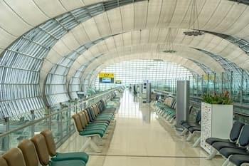 ドンムアン空港からスワンナプーム空港へシャトルバスを使えば無料