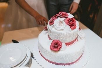 ドイツの結婚式 ケーキ入刀