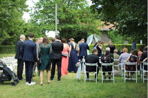 ドイツの結婚式の服装