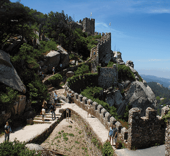 ムーア人の城跡 ポルトガル シントラ