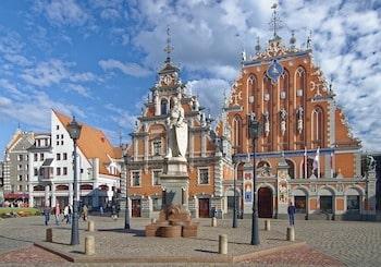 市庁舎広場 リガ ラトビア