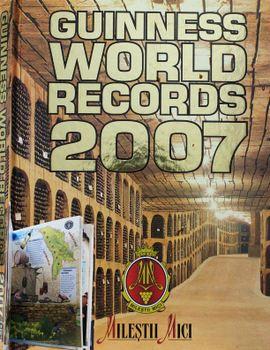 ギネスブック 世界一大きいワイン貯蔵庫 モルドバ