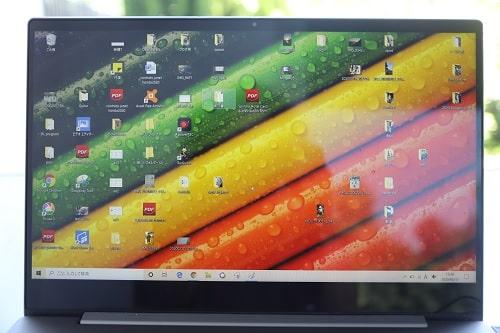 Lenovo IdeaPad S540のディスプレイは狭額ベゼル