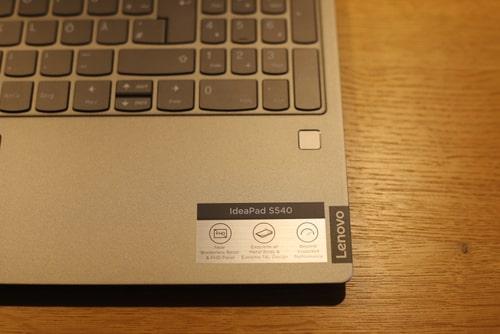 Lenovo IdeaPad S540 レビュー