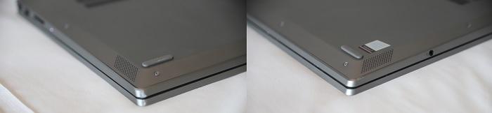 Lenovo IdeaPad S540のスピーカー