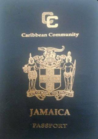 ジャマイカ 青のパスポート