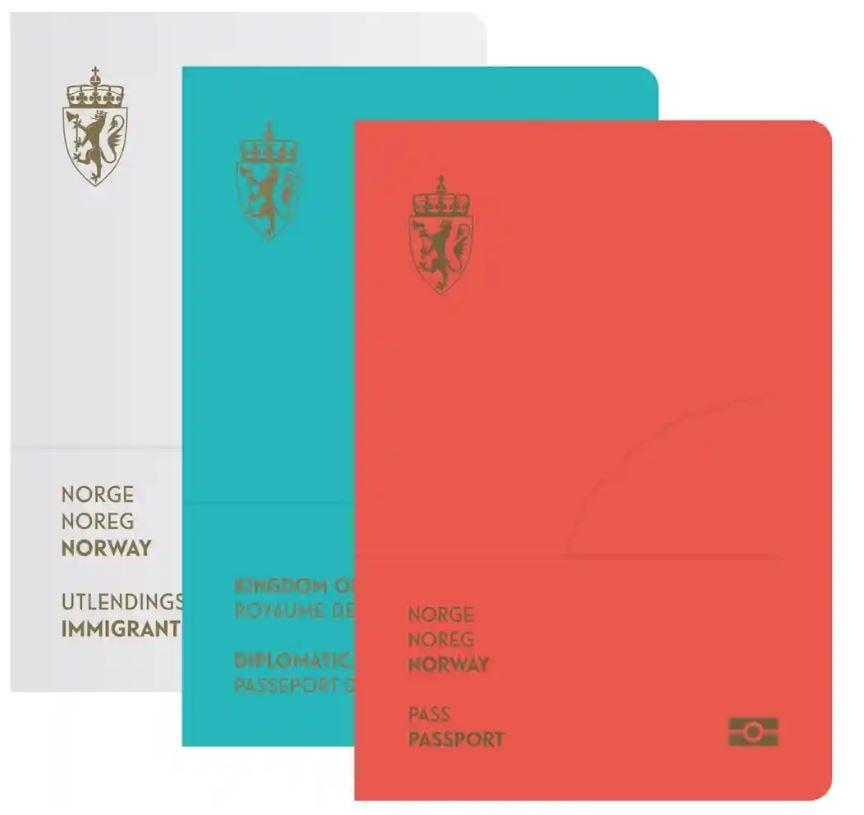 城の難民用のパスポート ノルウェー