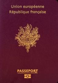 EU加盟国のパスポート 赤色
