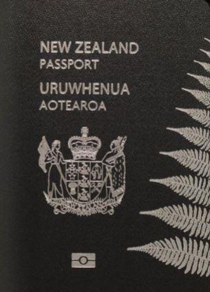 ニュージーランド 黒のパスポート