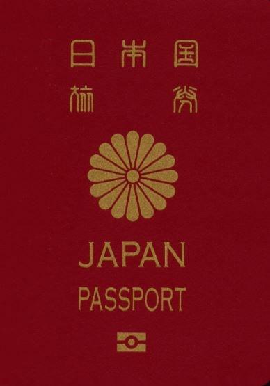日本の10年用のパスポート