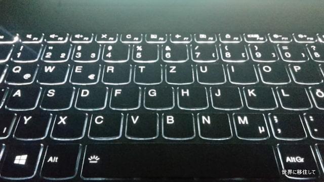 Lenovo ThinkBook 14 キーボード バックライト付き