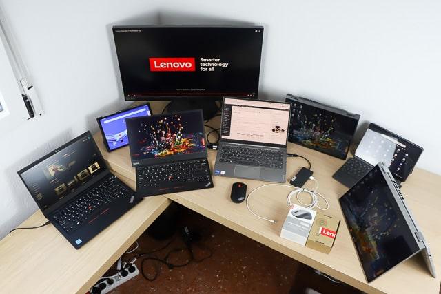筆者所持Lenovo製品