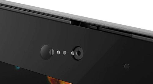 Lenovo thinkpad x1 yoga(2019)のIRカメラ