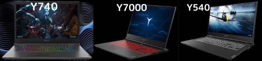 Lenovo ゲーミングノートパソコン Y740 Y540 Y7000 キーボードバックライトの違い