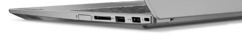 Lenovo thinkbook 15のインターフェイス