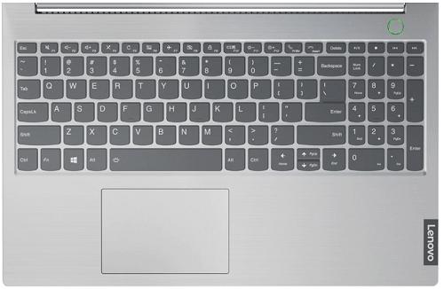 Lenovo thinkbook 15のキーボード