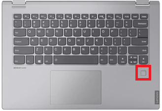 Lenovo ideapad c340は指紋センサー付き