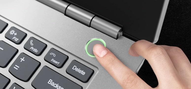 ThinkBook 13Sのセキュリティ