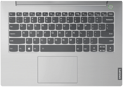 Thinkbook 14のキーボード