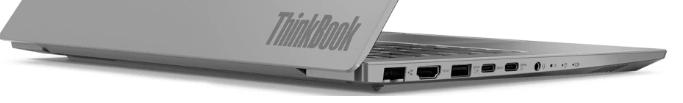 Thinkbook 14のインターフェース