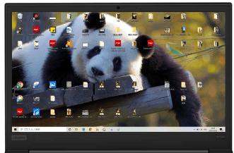Lenovo thinkpad E595のディスプレイはHDかFHDが選べる