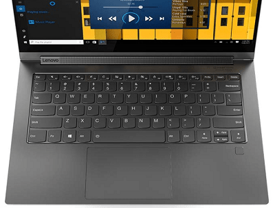 Lenovo yoga C940のキーボード