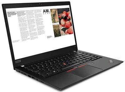 ThinkPad t490外観
