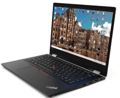 Lenovo thinkpad l13 Yogaのディスプレイ