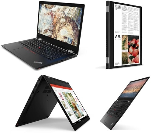 Lenovo ThinkPad L13 Yogaのレビュー・2 in 1 PC