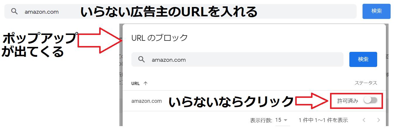 グーグルアドセンスでいらない広告をブロックする方法