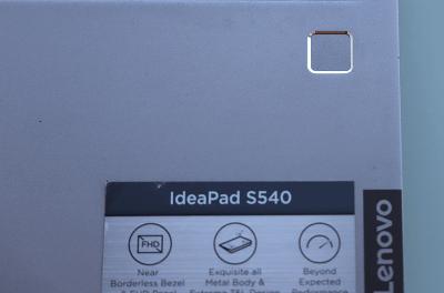 Lenovo ideapad s540 14inch指紋センサー付き