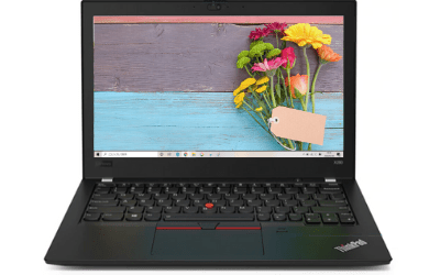 Thinkpad x280のディスプレイ