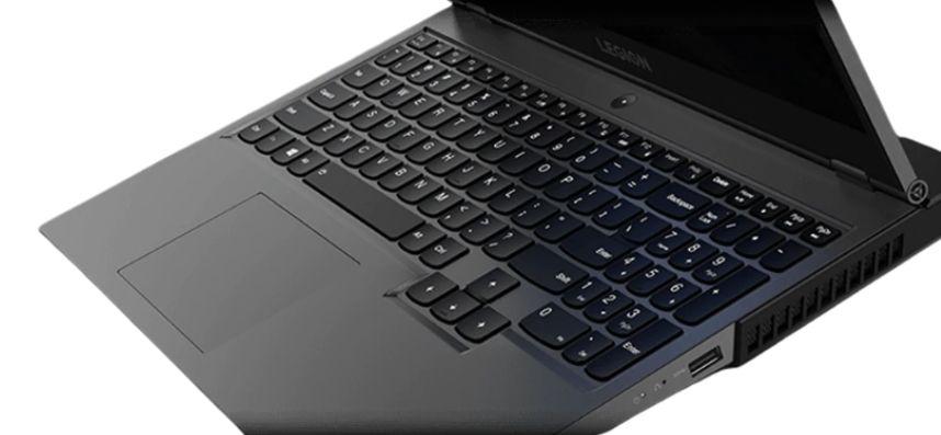 Legion 550Piのキーボード