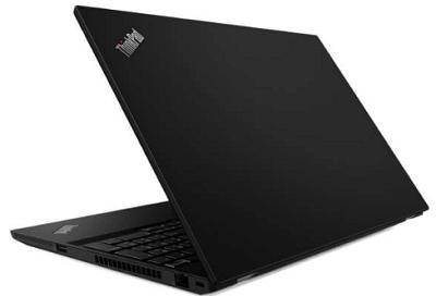 Lenovo ThinkPad T15 Gen 1の外観・後ろから