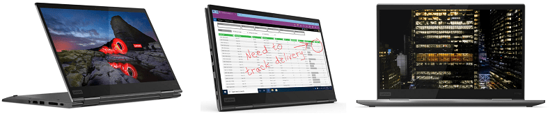Lenovo ThinkPad X1 Yoga Gen 5は2 in 1 PC