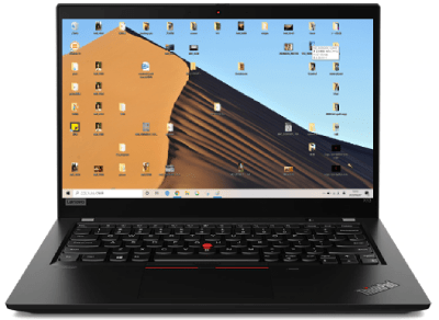 Lenovo thinkpad x13 Gen 1のディスプレイ