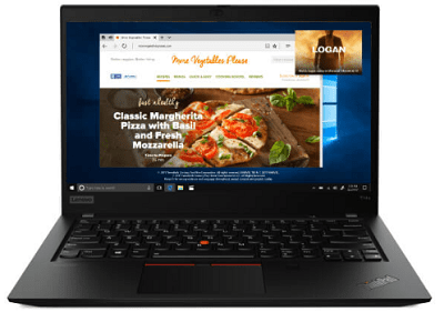 Lenovo ThinkPad T14s Gen 1・外観