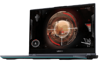 Legion 750iのディスプレイ