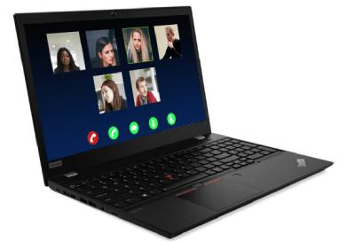 Lenovo ThinkPad T15 Gen 1のテレワーク用のボタンが配置
