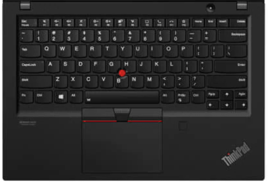 Lenovo ThinkPad T14s Gen 1のキーボード